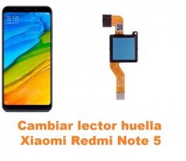 Cambiar lector huella Xiaomi Redmi Note 5