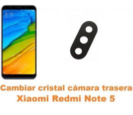 Cambiar cristal cámara trasera Xiaomi Redmi Note 5