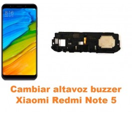 Cambiar altavoz buzzer Xiaomi Redmi Note 5