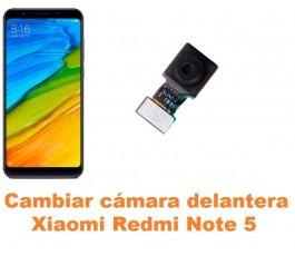 Cambiar cámara delantera Xiaomi Redmi Note 5