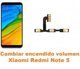 Cambiar encendido y volumen Xiaomi Redmi Note 5