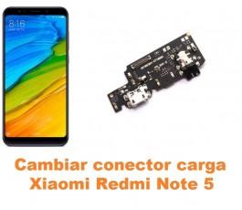 Cambiar conector carga Xiaomi Redmi Note 5