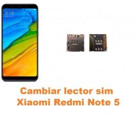 Cambiar lector sim Xiaomi Redmi Note 5
