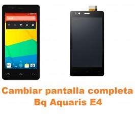 Cambiar pantalla completa Bq Aquaris E4
