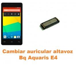 Cambiar auricular altavoz Bq Aquaris E4