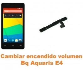 Cambiar encendido y volumen Bq Aquaris E4