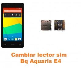 Cambiar lector sim Bq Aquaris E4