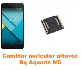 Cambiar auricular altavoz Bq Aquaris M5