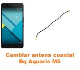 Cambiar antena coaxial Bq Aquaris M5