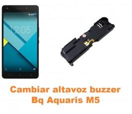 Cambiar altavoz buzzer Bq Aquaris M5