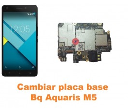 Cambiar placa base Bq Aquaris M5