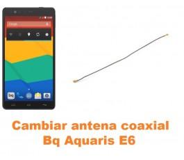 Cambiar antena coaxial Bq Aquaris E6