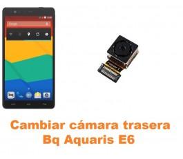 Cambiar cámara trasera Bq Aquaris E6