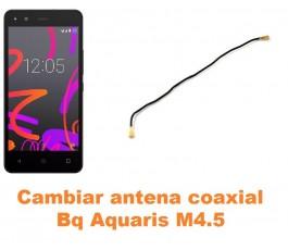 Cambiar antena coaxial Bq Aquaris M4.5