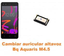 Cambiar auricular altavoz Bq Aquaris M4.5