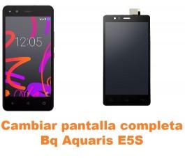 Cambiar pantalla completa Bq Aquaris E5S