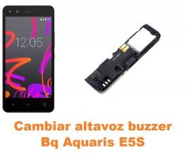 Cambiar altavoz buzzer Bq Aquaris E5S