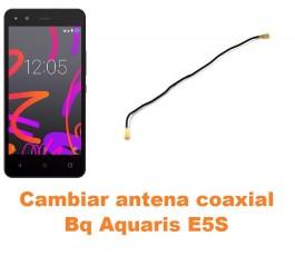 Cambiar antena coaxial Bq Aquaris E5S