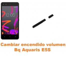 Cambiar encendido y volumen Bq Aquaris E5S