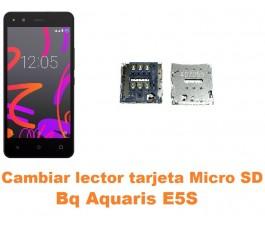 Cambiar lector tarjeta micro SD Bq Aquaris E5S