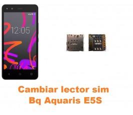 Cambiar lector sim Bq Aquaris E5S