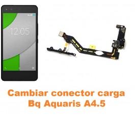 Cambiar conector carga Bq Aquaris A4.5