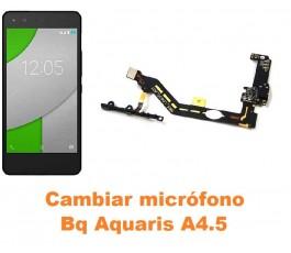 Cambiar micrófono Bq Aquaris A4.5