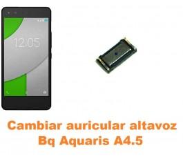 Cambiar auricular altavoz Bq Aquaris A4.5