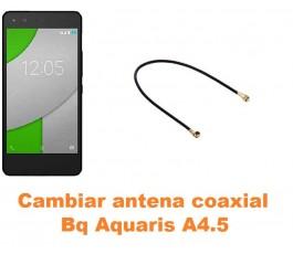 Cambiar antena coaxial Bq Aquaris A4.5