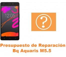 Presupuesto de reparación Bq Aquaris M5.5