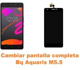 Cambiar pantalla completa Bq Aquaris M5.5