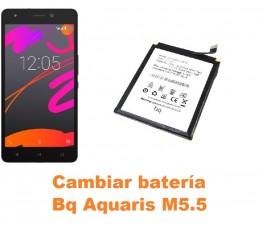 Cambiar batería Bq Aquaris M5.5
