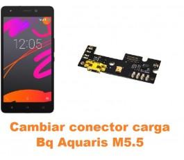 Cambiar conector carga Bq Aquaris M5.5