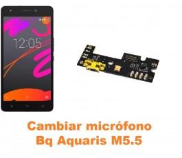 Cambiar micrófono Bq Aquaris M5.5