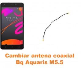 Cambiar antena coaxial Bq Aquaris M5.5