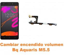 Cambiar encendido y volumen Bq Aquaris M5.5