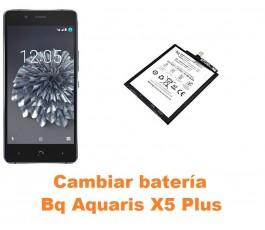 Cambiar batería Bq Aquaris X5 Plus