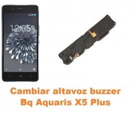 Cambiar altavoz buzzer Bq Aquaris X5 Plus