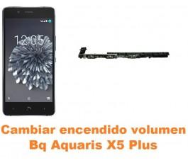 Cambiar encendido y volumen Bq Aquaris X5 Plus
