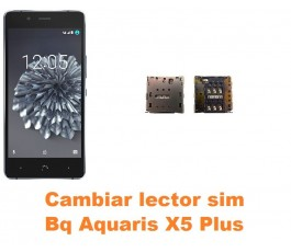 Cambiar lector sim Bq Aquaris X5 Plus
