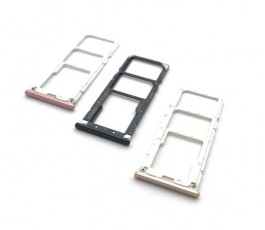 Porta dual sim y sd para Xiaomi Redmi 6 Pro y Mi A2 Lite Rosa