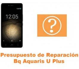 Presupuesto de reparación Bq Aquaris U Plus