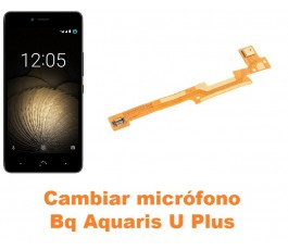 Cambiar micrófono Bq Aquaris U Plus