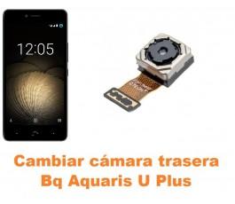 Cambiar cámara trasera Bq Aquaris U Plus