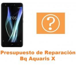 Presupuesto de reparación Bq Aquaris X