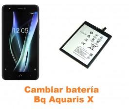 Cambiar batería Bq Aquaris X