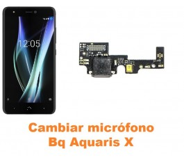 Cambiar micrófono Bq Aquaris X