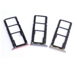 Porta tarjeta sim para Xiaomi Redmi S2 y Redmi Y2 gris