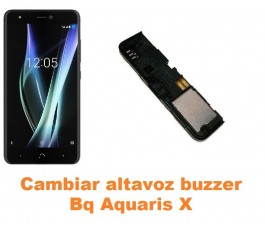Cambiar altavoz buzzer Bq Aquaris X