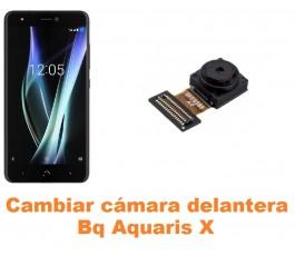 Cambiar cámara delantera Bq Aquaris X
